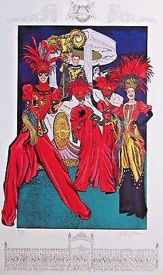 1998 Krewe of Orpheus Mardi Gras Poster (Signed & Numbered)