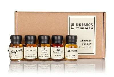 Various Distilleries - Drinks By The Dram Extreme Whisky Tasting Set  Whisky