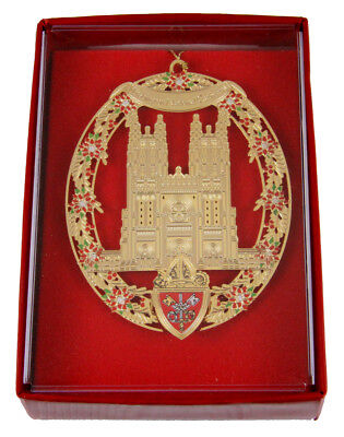 6030226 Christmas Ornament The National Cathedral Church President G H W Bush