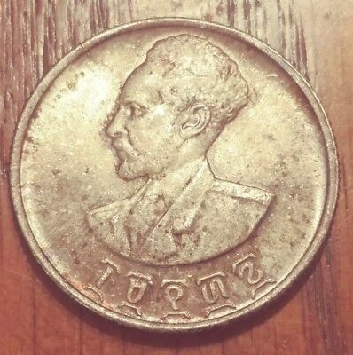 Ethiopia EE1936 50 Cents - Silver coin