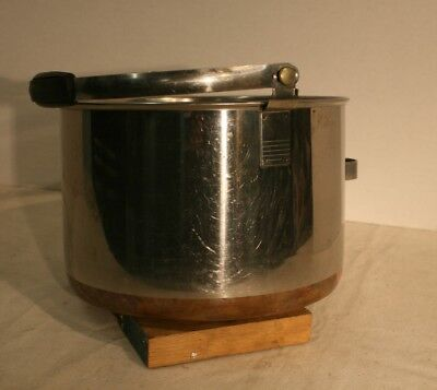 Revere Vintage Bail Handled Stock Pot 6 Qt. Pan Stainless Dutch Oven
