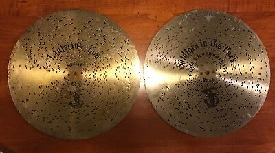 "2- Music Box Polyphon Discs 11 "" Louisiana Lou #2362& Soldiers In The Park #2546"
