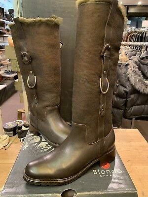 71789a3b507 Blondo Canada Women s velma brown Winter Boots with shearling lining