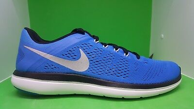 Nike Flex 16 RN Men s Running Training Shoes Photo Blue 830369 400 SZ 9.5  and 10 69a7a3d20