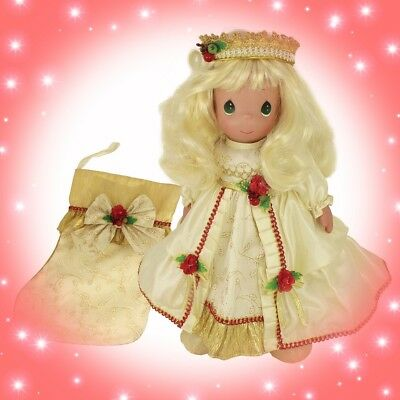 "2018 Precious Moments Stocking Doll, May Your Christmas Be Merry & Bright, 16"" d"