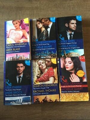 Job Lot Of 6 Mills And Boon 2 In 1 Books