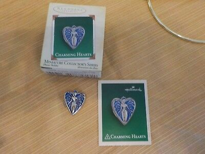 HALLMARK KEEPSAKE ORNAMENT 2005, Charming Hearts, Photo Holder, 3rd series, mini