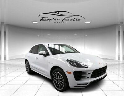 """2017 Macan Turbo SPORT PREM PLUS $91K MSRP 20"""" Spyder 2017 Porsche Macan, White with 39,577 Miles available now!"""