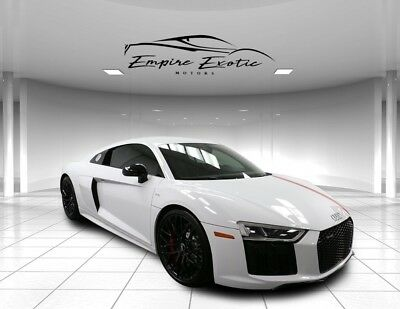 2018 R8 5.2L V10 R8 1 of 100 for USA 2018 Audi R8, Ibis White with 150 Miles available now!