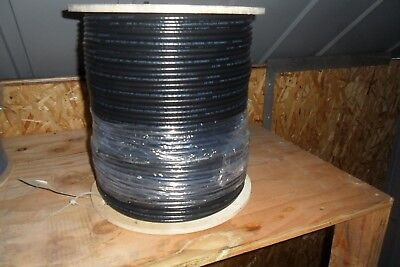Commscope 1000ft Direct Burial RG6 Coaxial Cable 18 AWG copper steel spool