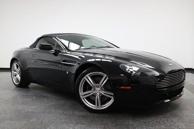 2009 Vantage V8 Vantage Convertible w/16k!  Cleanest I've Seen 2009 Aston Martin V8 Vantage, Onyx Black with 15,244 Miles available now!