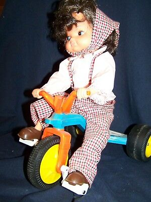 playmates tricycle doll
