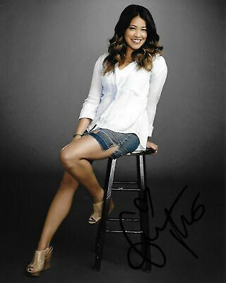 Fitness Queen Gina Rodriguez Signed Photo 8x10 COA