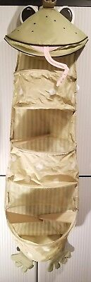 by IKEA Fabler Groda Frog Prince Nursery Organizer Diaper Caddy Changing Green