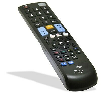 Remote Control RC311FU12 for TCL TV Models: 32P1S, 43P1FS,43P10US,48P1CFS,49P1FS