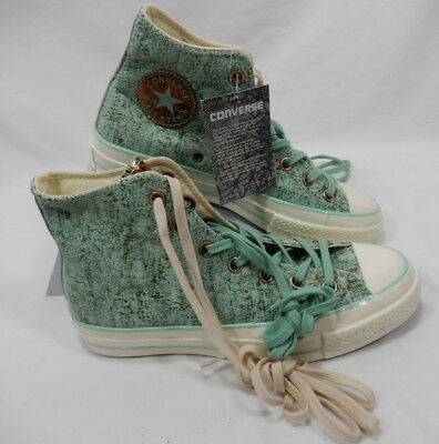 a996e234107a Limited Edition Teal Converse Chuck Taylor Home Sweet Home Shoes Womens 8  Mens 6
