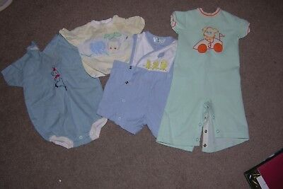 Small Collection of Vintage Baby Clothes, Baby Boy, Carters, Tiny Tots