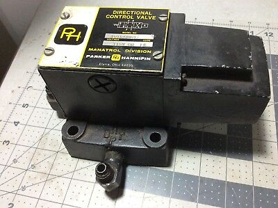 Parker Hannifin Hydraulic Directional Control Valve Model 10101B #R814