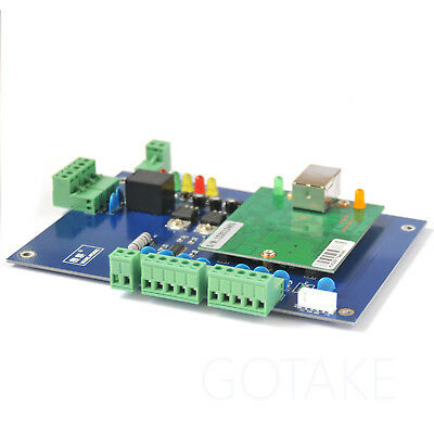 Access Controller Panel Board TCP/IP LAN Network For One Door RFID Card Reader