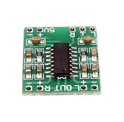 Mini Digital Amplificador de Estereo Audio 2,5V- 5V 3W AMP Modulo 5V USB PAM8403