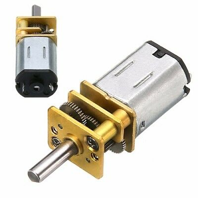 60 RPM DC 6V 0.3A High Torque Mini Electric DC Geared Motor For Robot