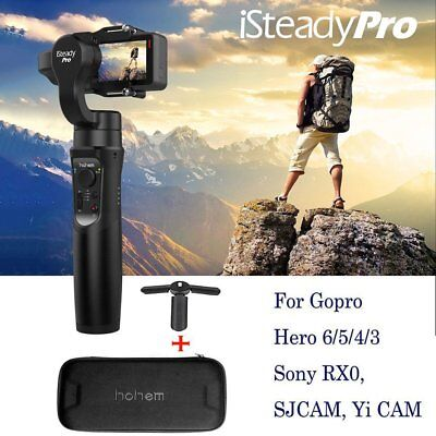 Hohem iSteady PRO Handheld 3Axis Gimbal Stabilizer F GoPro Hero 6/5/4/3 Cameras