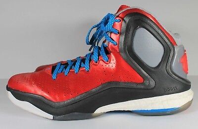 sports shoes 59939 a3b4a Men s adidas D Rose 5 Boost Derrick Rose Basketball Sneakers Shoes Sz 12