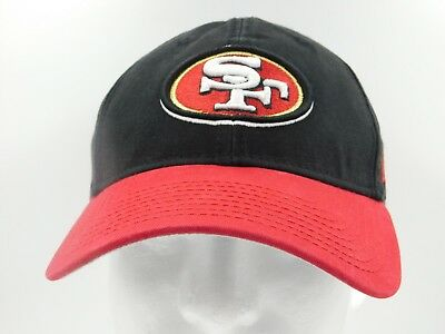 online store a1c6e 3aa66 San Francisco 49ers NFL New Era 9TWENTY Adjustable Hat - Black and Red