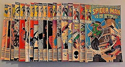 Lot of Marvel Peter Parker the Spectacular Spider-Man #'s 4,5,88,90,91,94,95....