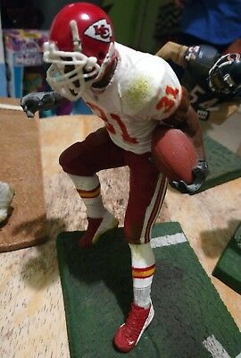 5d08537f653 McFarlane NFL Series 6 Kansas City Chiefs Priest Holmes White Jersey Loose