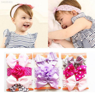 448C Durable Headband Appealing Colors and Patterns Kids Hair Ornaments
