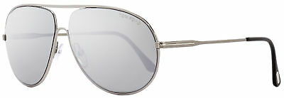 3f5c4f3381dcf Tom Ford Aviator Sunglasses TF450 Cliff 14C Ruthenium Black 61mm FT0450