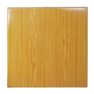 New Table Top Restaurant Cafe Antiscratch UV Isotop Dining 70cm Square Oak