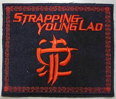 STRAPPING YOUNG LAD embroidered patch David Townsend Project Revocation Haunted