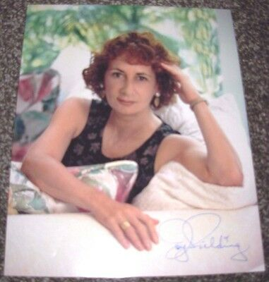 Joy Fielding Hand Signed Autographed 8x10 Color Photo See Jane Run  Novelist