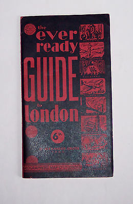 Guide to London 1946 - list/address facilities - 56 pages very good - notes/pics
