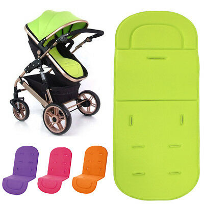 4Color Baby Stroller Pram Pushchair Soft Washable Car Seat Liner Pad Mat Cushion