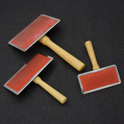 Wool Blending Carding Combs Economic Spinning Fleece Felting Tool Three Size
