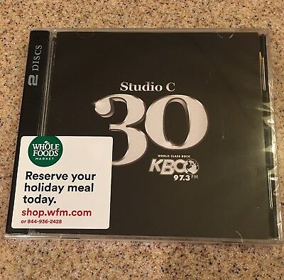 Kbco Studio C  Volume 30 Anniversary * Live * Brand New * Sold Out * 2-Disk  Cd