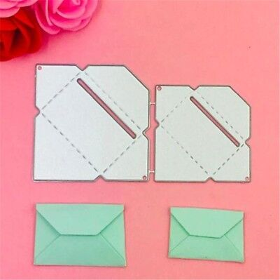 Envelope Metal Die Cuts Cutting Dies for DIY Scrapbooking Embossing Paper Cards