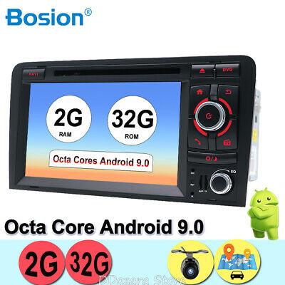 Android 7.1 For Audi A3 2003-2011 Car Stereos 2 din GPS Navi DVD Player Camera