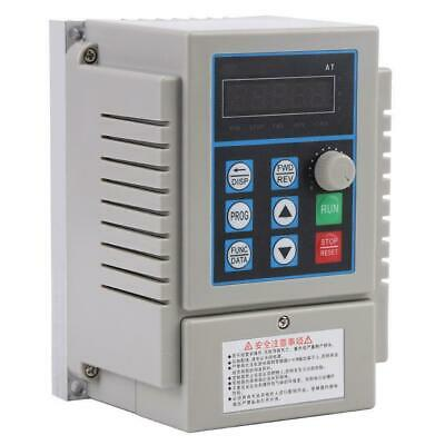 220V Single Phase Variable Frequency Converter VFD 0.45kW 0.75kW 1.5kW AC Motor