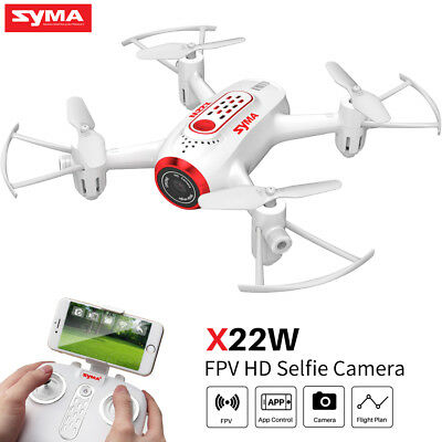 Syma X22W RC HD Camera Drone WIFI FPV App Control Quadcopter RC Toy for Kids