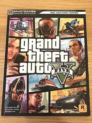 Grand Theft Auto V by Bradygames Signature Series Official Guide
