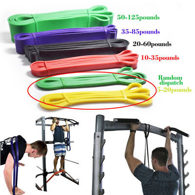 Resistance Exercise Heavy Duty Bands Tube Home Gym Fitness Premium Natural*Latex