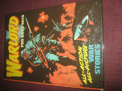 Warlord For Boys 1978 - Vintage UK Annual