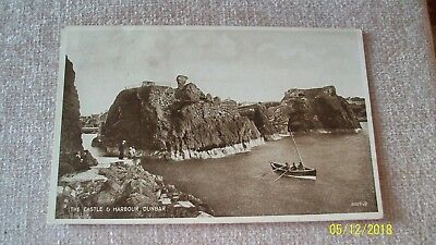 Postcard-- The Castle And Harbour , Dunbar