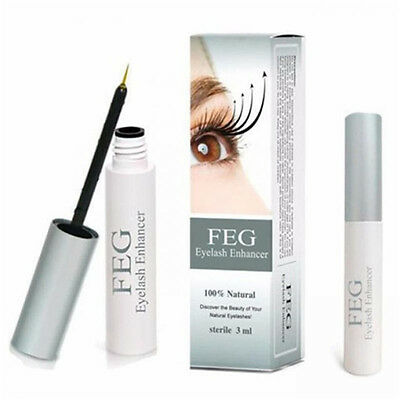 US Stock FEG Eyelash Enhancer Eye Lash Rapid Growth Serum Liquid Natural.