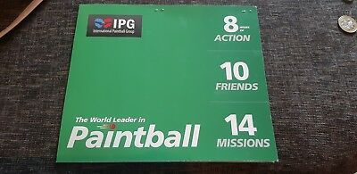 10 Paintball Tickets bargain + 1000 Paintballs worth over £300.00 + online