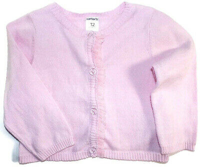 61102a2d5 GIRL CARTER S SPARKLE Button-Front Cardigan Size 24 Months Nwt ...